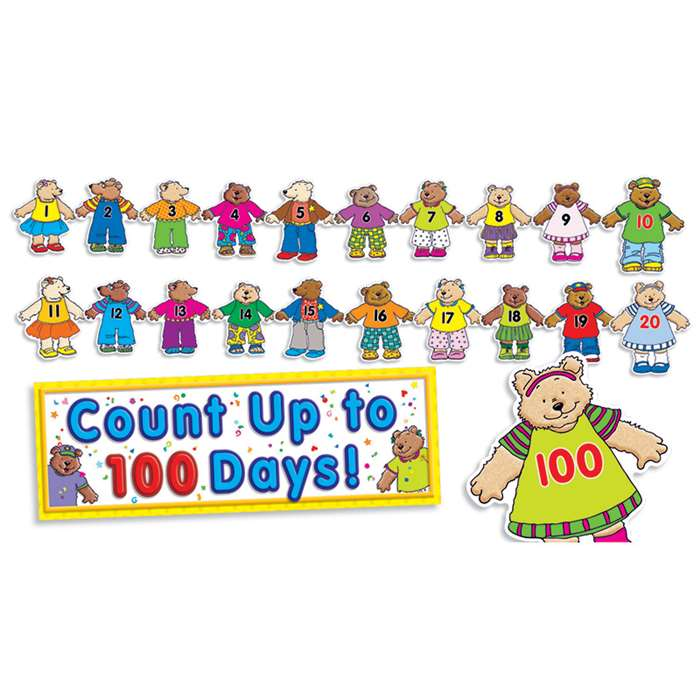 100Th Day Counting Bears Bbs By Teachers Friend