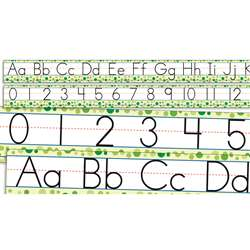 Standard Manuscript Alphabet And Numbers 0-30 By Teachers Friend