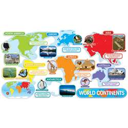 World Continents Bbs By Teachers Friend