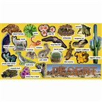 Desert Plants & Animals Mini Bulletin Board Set Gr Pk-5 By Teachers Friend