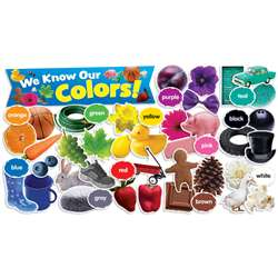 Colors In Photos Mini Bulletin Board Set By Teachers Friend