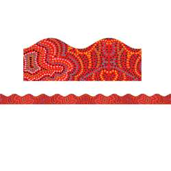 Aboriginal Art Scalloped Trimmer By Teachers Friend
