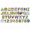 Illustrated Alphabet & Numbers Bulletin Board Set Gr Pk-3 By Teachers Friend