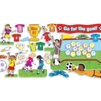 Soccer Goals Bulletin Board Set Gr Pk-5 By Teachers Friend