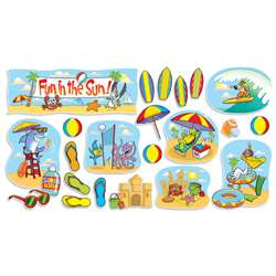 Fun In The Sun Bulletin Board Set By Teachers Friend