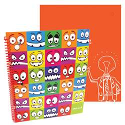 Shop Stylez Lil Monsters 70 Pg Spiral Notebook - Tkd04284 By Axis Group