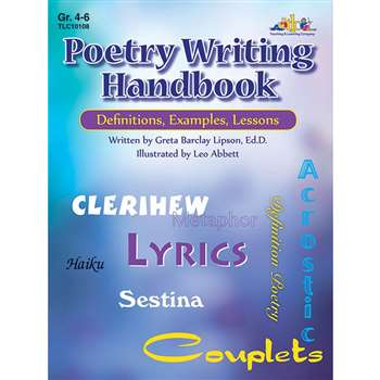 Poetry Writing Handbook Gr 4-6 By Teaching Learning
