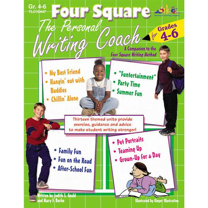 Four Sq The Personal Writing Gr 4-6 By Teaching Learning