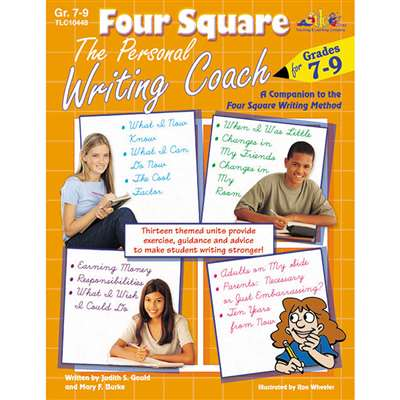 Four Sq The Personal Writing Gr 7-9 By Teaching Learning