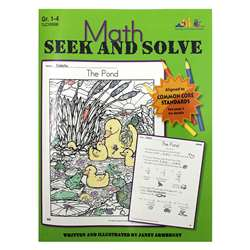 Math Seek And Solve Book By Milliken Lorenz Educational Press