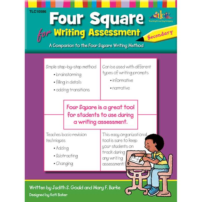 Four Square For Writing Assessment Secondary By Milliken Lorenz Educational Press
