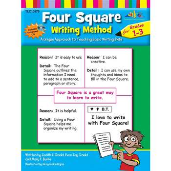 Four Square Writing Method Gr 1-3 By Milliken Lorenz Educational Press