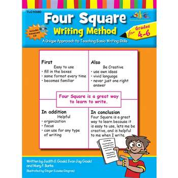 Four Square Writing Method Gr 4-6 By Milliken Lorenz Educational Press