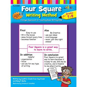 Four Square Writing Method Gr 7-9 By Milliken Lorenz Educational Press