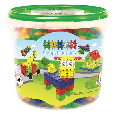 Clics Bucket 175 Pieces, TLKCB175