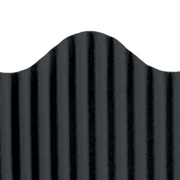 Corrugated Border Black, TOP21001