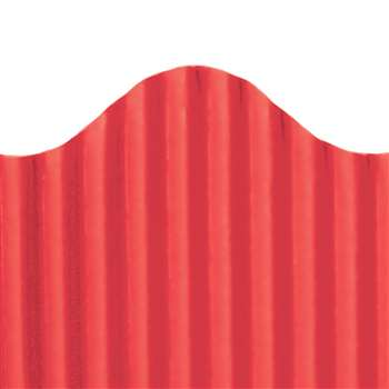 Corrugated Border Red, TOP21002