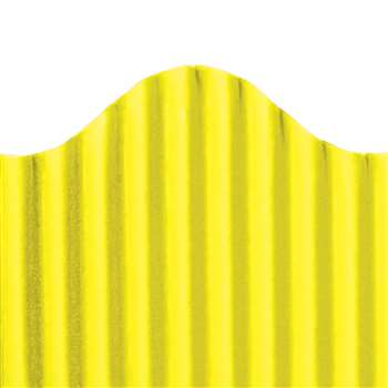 Corrugated Border Yellow, TOP21003