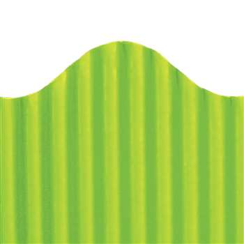 Corrugated Border Lime, TOP21006