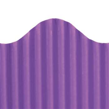 Corrugated Border Purple, TOP21013