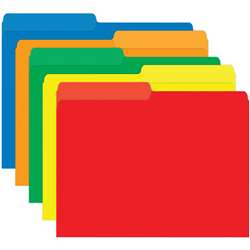 Primary Assorted Mini File Folders By Top Notch Teacher Products