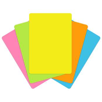 Pocket Chart Cards Brite Colors - Top3542 By Top Notch Teacher Products