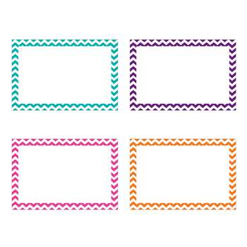 Shop Border Index Cards 4 X 6 Blank Chevron - Top3553 By Top Notch Teacher Products