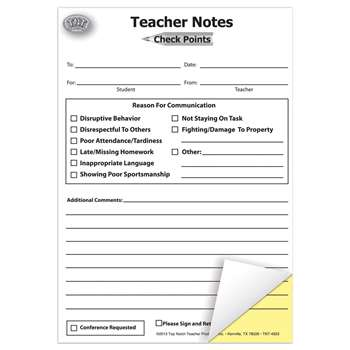 Check Points Teacher Notes - Top4920 By Top Notch Teacher Products