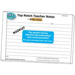 Write A Note Booklet - Top4922 By Top Notch Teacher Products