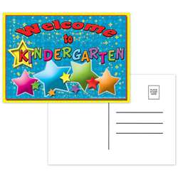 Postcards Welcome To Kindergarten - Top5116 By Top Notch Teacher Products
