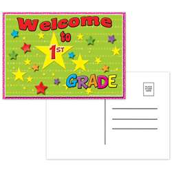Postcards Welcome To 1St Grade - Top5117 By Top Notch Teacher Products