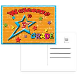 Postcards Welcome To 3Rd Grade - Top5119 By Top Notch Teacher Products