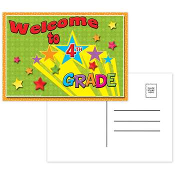 Postcards Welcome To 4Th Grade - Top5120 By Top Notch Teacher Products