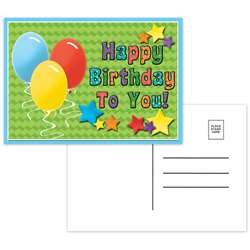 Postcards Happy Birthday To You - Top5123 By Top Notch Teacher Products