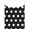 Brite Pockets Blk Polka Dots 35/Bag - Top6435 By Top Notch Teacher Products