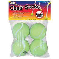 Chair Socks 4 Ct. Polybag - Tpg230 By The Pencil Grip