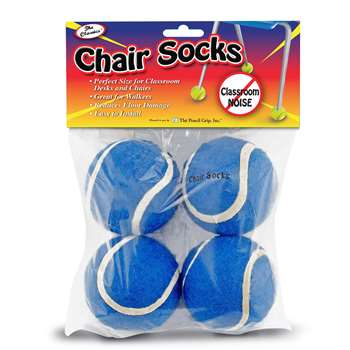 Chair Socks Blue 4Pk, TPG232