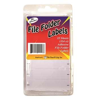 File Folder Labels 154 Ct Clamshell - Tpg458 By The Pencil Grip