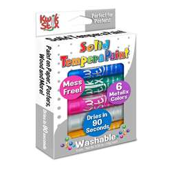Kwik Stix Solid Paint Metallic Colors 6Ct, TPG613