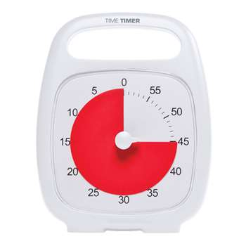 Time Timer Plus White, TTMP7WHT