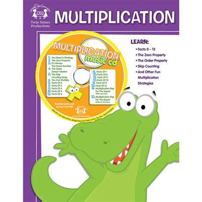 Workbooks & Songs That Teach Multiplication Workbook & Cd - Twin369Cd By Twin Sisters Productions