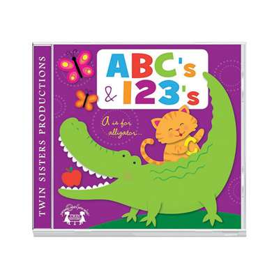 Abcs & 123S Cd, TWIN602CD