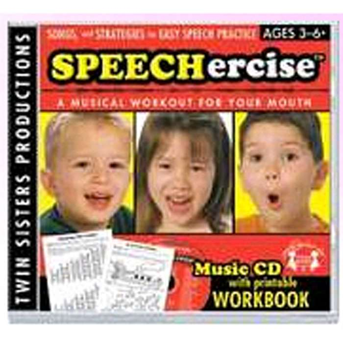 Speechercise Level 1 Cd - Twin8032Cd By Twin Sisters Productions