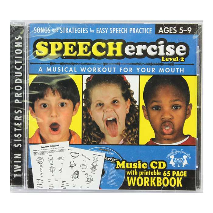 Speechercise Level 2 Cd - Twin8033Cd By Twin Sisters Productions