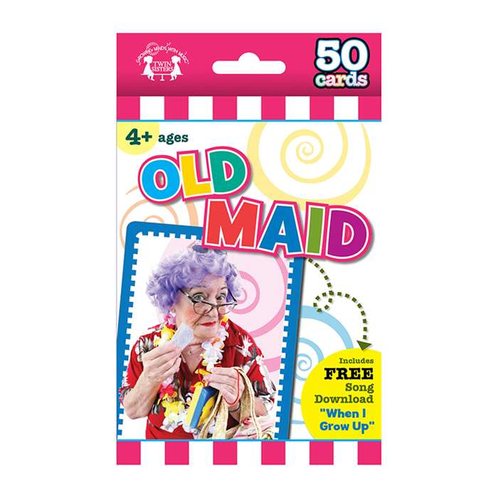 Game Flash Cards Old Maid, TWIN9563