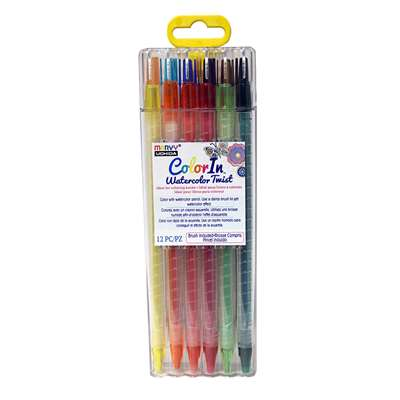 "Color "" Watercolor Twist 12 Pc Set, UCH450012A"