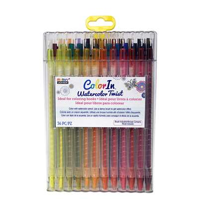 "Color "" Watercolor Twist 36 Pc Set, UCH450036A"