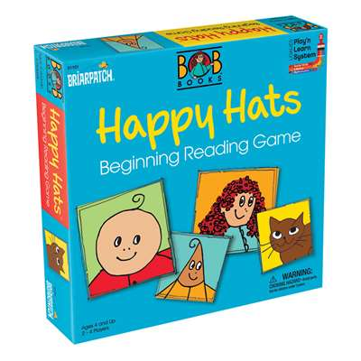 Bob Books Happy Hats, UG-01101