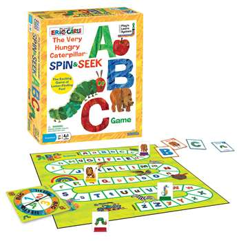 The Very Hungry Caterpillar Spin & Seek Abc Game, UG-01249