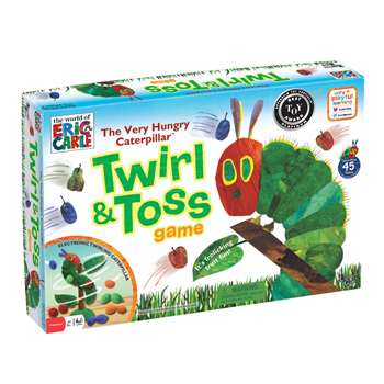 Shop The Very Hungry Caterpillar Twirl & Toss Game - Ug-01297 By University Games